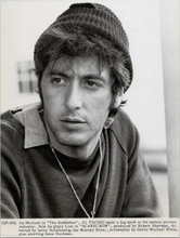 Al Pacino original 1973 8x10 photo portrait as Lion in Scarecrow