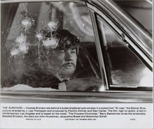 Charles Bronson original 1976 8x10 photo in car from St. Ives