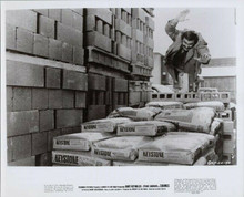 Burt Reynolds original 1972 8x10 photo makes a leap in the air Shamus movie