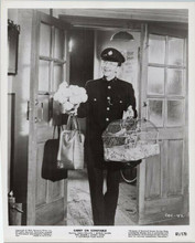Carry on Constable 1961 original 8x10 photo Charles Hawtrey carries bird cage
