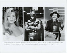 Batman 1989 original 8x10 photo Michael Keaton Jack Nicholson Kim Basinger
