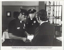 Adam 12 TV series 1984 original 8x10 photo Martin Milner Kent McCord interview