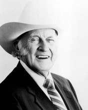 Bill Munroe Father of Bluegrass smiling portrait in stetson 8x10 photo