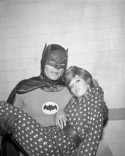 Batman TV series Adam West holds unidentified female 8x10 photo