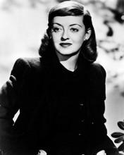 Bette Davis classic 1940's portrait in black jacket 8x10 photo