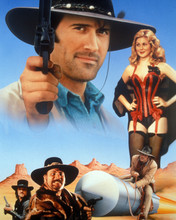 Adventures Of Brisco Counry Jr. Bruce Campbell Kelly Rutherford Art 8x10 Photo