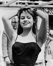 Brigitte Bardot Sexy B&W 8x10 Photo (20x25 cm approx)