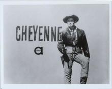 Cheyenne TV series ABC publicity 8x10 photo with logo Clint Walker