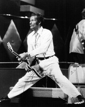 Chuck Berry Doing Splits With Guitar 8x10 Photo