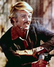 Butch Cassidy And The Sundance Kid Robert Redford Firing Gun 8x10 Photo
