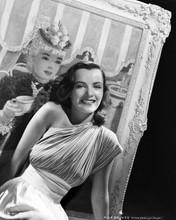 Ella Raines beautiful smiling glamour portrait bare shoulder 8x10 photo