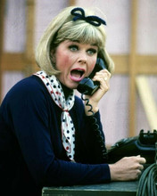 Doris day with surprised reaction on telephone The Doris Day Show 8x10 photo