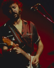 ERIC CLAPTON CLASSIC IN CONCERT MID 1980'S PLAYING GUITAR 8X10 PHOTO