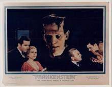 Frankenstein Boris Karloff as The Monster 8x10 photo original artwork