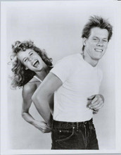 Footloose 8x10 photo Kevin Bacon Lori Singer dance