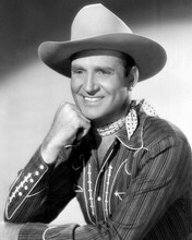 Gene Autry handsome studio portrait in western outfit 8x10 photo