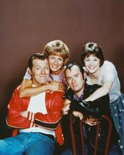Laverne & Shirley Cast Color Rare 8x10 Photo
