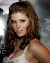 Kate Mara with sexy look wearing low cut dress huge cleavage 8x10 photo