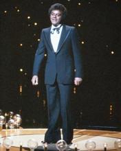 Johnny Mathis full length on stage wearing tuxedo 1970's era 8x10 photo
