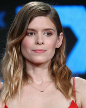 Kate Mara candid pose in red dress 8x10 photo