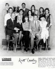 Knot's Landing TV series 8x10 photo full cast pose