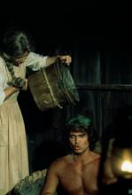 Little House on the Prairie Karen Grassle gives Michael Landon a bath 8x10 photo
