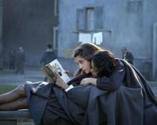 My Brilliant Friend Gaia Girace Margherita Mazzucco cuddle reading book 8x10