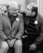 Mary Tyler Moore Show 8x10 photo Ted Knight as Ted Ed Asner as Lou Grant