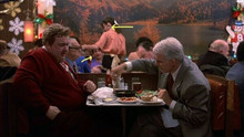 Planes Trains And Automobiles John Candy Steve Martin in diner 8x10 photo
