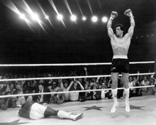 Rocky III Sylvester Stallone is the winner in ring 8x10 photo
