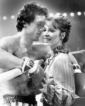 Rocky III Sylvester Stallone Talia Shire ring side 8x10 photo