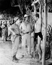 Tarzan and the She-Devil Lex Barker full length strung up Raymond Burr 8x10
