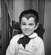 The Munsters Butch Patrick Eddie Munster smiling with vampire teeth 8x10 photo