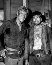 The Rifleman western TV Chuck Connors guest star Claude Akins 8x10 photo
