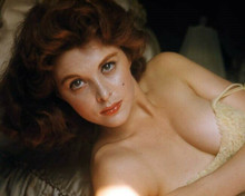 Tina Louise in yellow dress pulled down revealing cleavage 8x10 photo