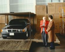 Tomorrow Never Dies Desmond Llewelyn as Q Pierce Brosnan driverless BMW 8x10