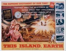 This Island Earth Faith Domergue Jeff Morrow Rex Reason 8x10 poster artwork