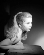 Tuesday Weld beautiful portrait hands cover bare chest 8x10 photo