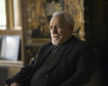 Brian Cox classic portrait as Logan Roy Succession TV patriarch 8x10 photo