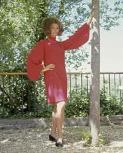 Sophia Loren full length 1960's pose in pink dress 8x10 inch photo