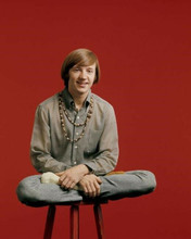 The Monkees Peter Tork 1960's pose sitting on stool 8x10 inch photo