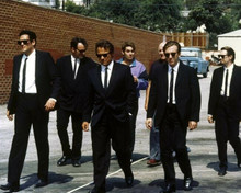 "Reservoir Dogs ""the walk"" Keitel Roth Madsen Buscemi Penn Tierney 8x10 photo"