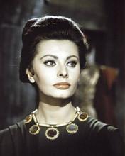 Sophia Loren beautiful portrait in costume El Cid 8x10 inch photo