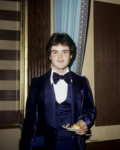Donny Osmond young early 1970's candid in purple tuxedo at event 8x10 inch photo