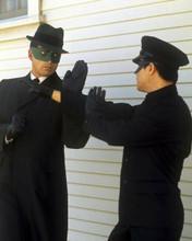 The Green Hornet TV series Van Williams Bruce Lee kung fu pose 8x10 inch photo