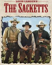The Sacketts TV series Tom Selleck Sam Elliott Jeff Osterhage 8x10 photo
