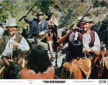 The Revengers 1972 8x10 lobby card Ernest Borgnine William Holden