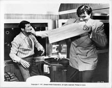 The Spy Who Loved me 8x10 photo Richard Kiel fights Roger Moore