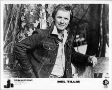 Mel Tillis 8x10 photo MGM Records promotional portrait in denim jacket