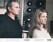 The Neptune Factor 1973 8x10 lobby card Ernest Borgnine Yvette Mimnieux